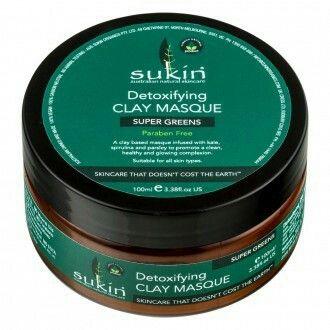 SUKIN Super Greens Detoxifying Clay Masque 100 mL