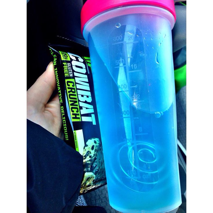Cellucor c4 pre workout and muscle pharm combat bar. Perfect pre workout snack!
