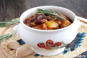 Рецепт – Чили из красной фасоли с индейкой