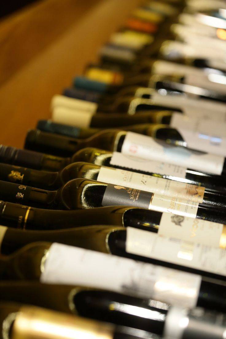 Our very updated wine list is featuring both Greek and international wine labels.