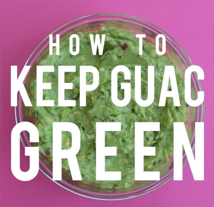Tiny Video Tip: How To Keep Guacamole Green Overnight