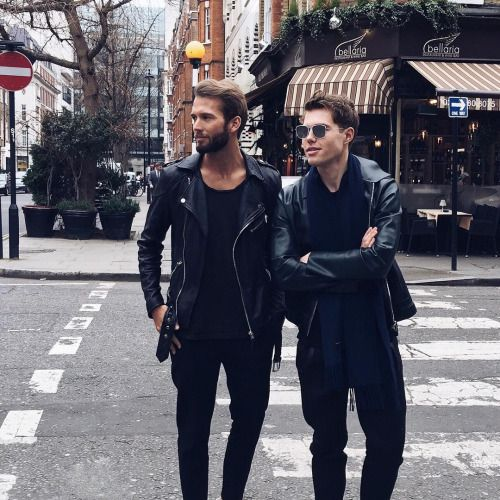 All Black Men's Style #1 Follow MenStyle1 on: ... | MenStyle1- Men's Style Blog