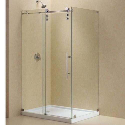 78 Best Ideas About Frameless Sliding Shower Doors On