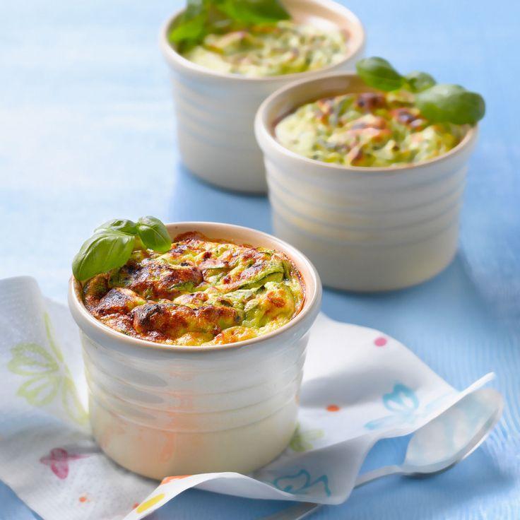 Découvrez la recette mini-gratins de courgettes à la ricotta sur cuisineactuelle.fr.