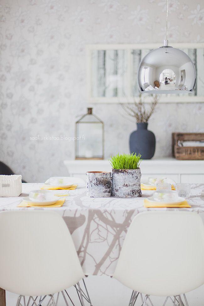Saa Kurkistaa - Sisustusblogi: ruokahuone/dining room
