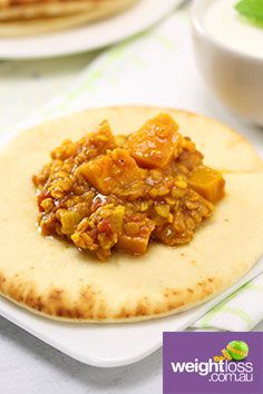 Pumpkin & Red Lentil Dahl. #HealthyRecipes #DietRecipes #WeightLossRecipes weightloss.com.au