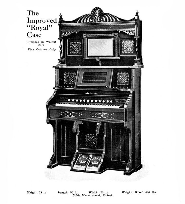 Dominion - 1M Reed Organ. Royal Case