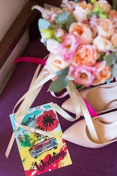 Букет невесты. Кубинская свадьба Wedkitchen