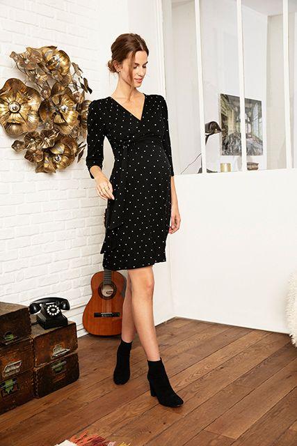 e8c90f0de4963 Envie de Fraise // Collection AH 2019 -RESA LS- #Dress #MaternityStyle