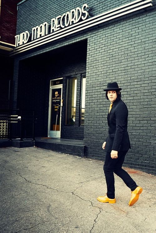 Jack White...I got to visit third man this summer, loved it.  small room but must see for any jack fan