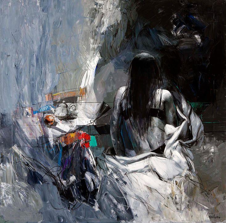 Exposition Antonio TAMBURRO à la galerie Alain Daudet à Toulouse. Artiste peintre contemporain. Galerie d'art contemporain, France.