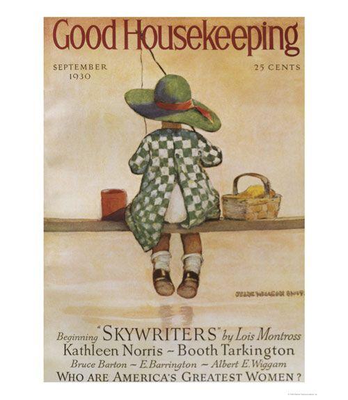 vintage good housekeeping articles