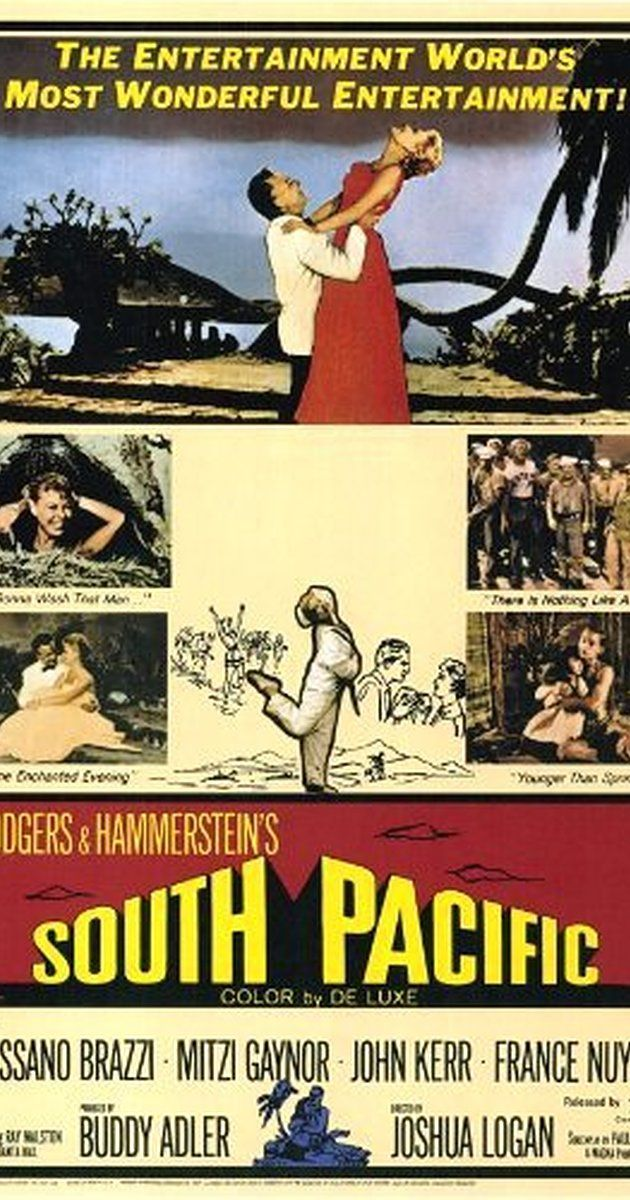 Directed by Joshua Logan.  With Rossano Brazzi, Mitzi Gaynor, John Kerr, Ray Walston. On a South Pacific island during World War II,…