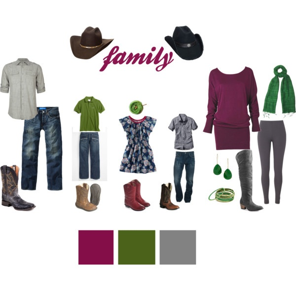 "Picture Day Outfit Ideas - this one was made specifically for the ""W"" family. :-)"