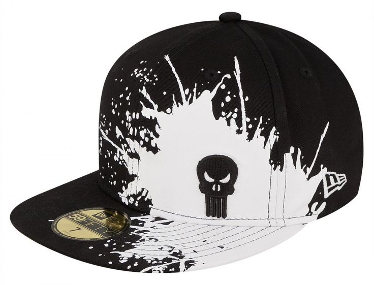 Punisher Splatways 59Fifty Fitted Baseball Cap by MARVEL x NEW ERA