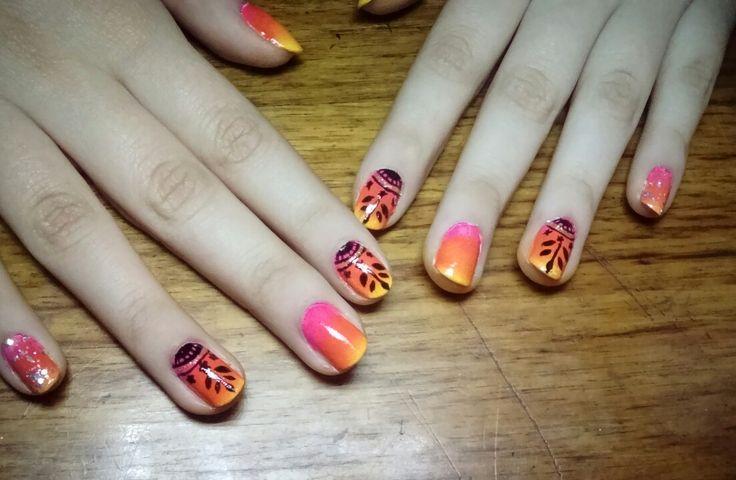 #uñasdegrade #nails #nailart #uñas #manicure