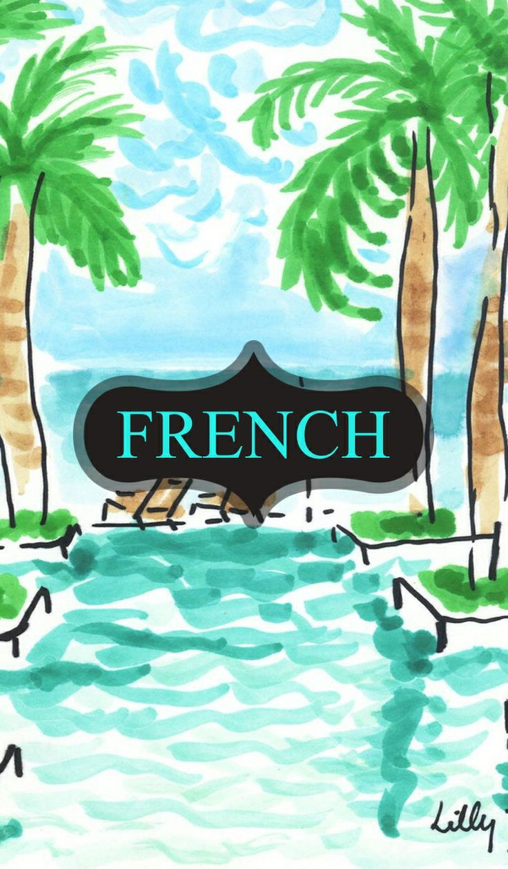 beach french binder cover