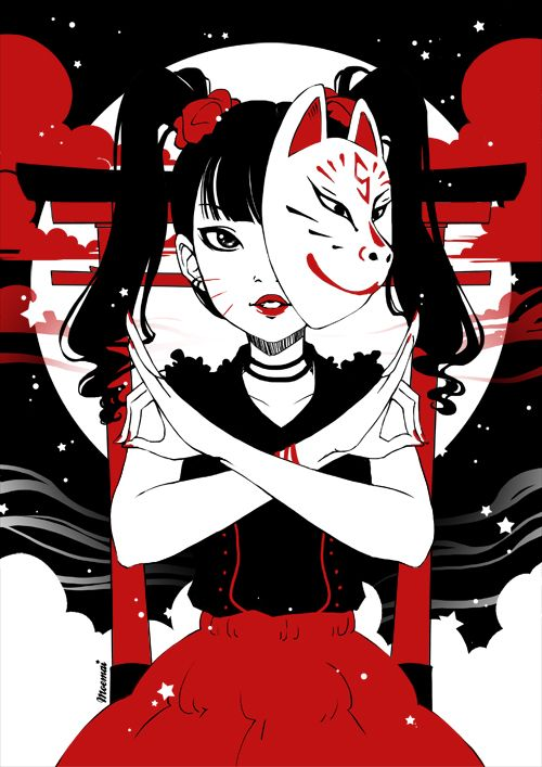 Kitsune by Moemai on DeviantArt