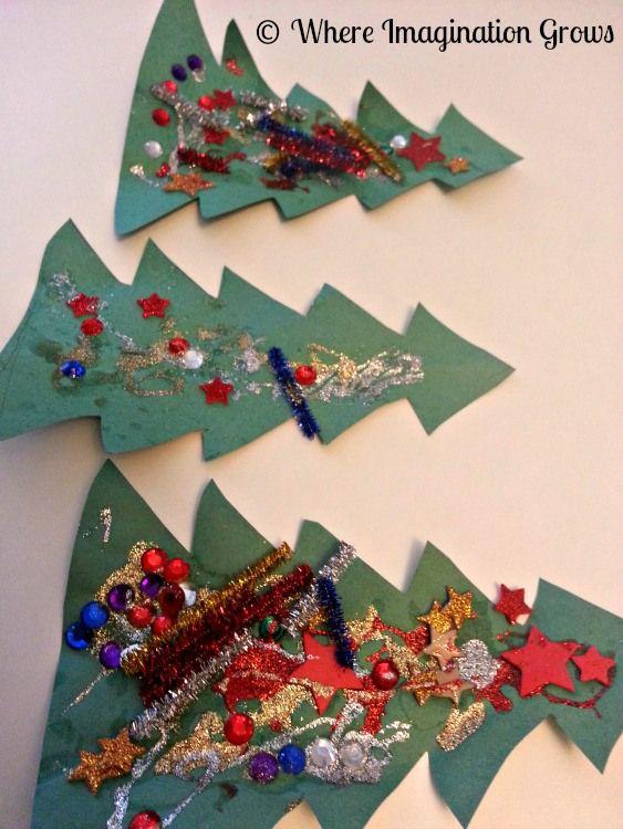 colagem natal arvore2 Atividades de Artes de Natal para Educação infantil natal   Atividades para Educacao Infantil