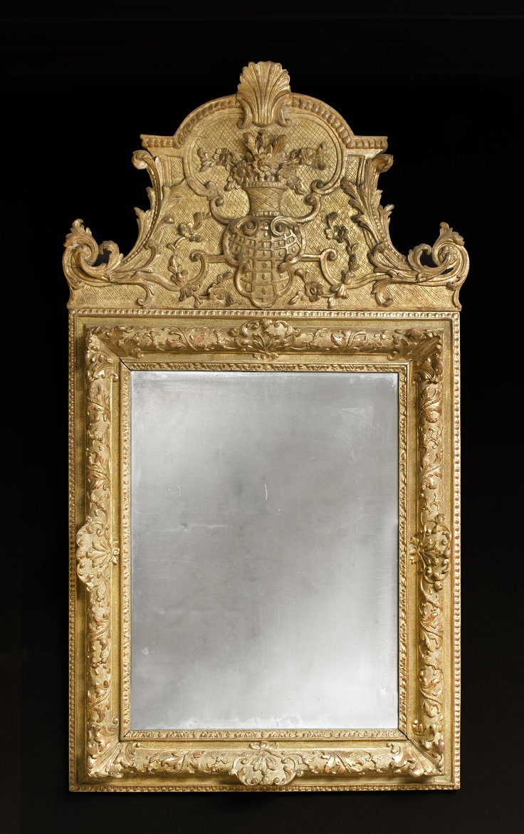 31 best images about style louis xiv on pinterest pewter for Miroir trumeau bois