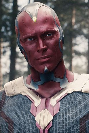 "The Vision (Paul Bettany) | This Is How Different The ""Avengers"" Cast Looks Out Of Character"