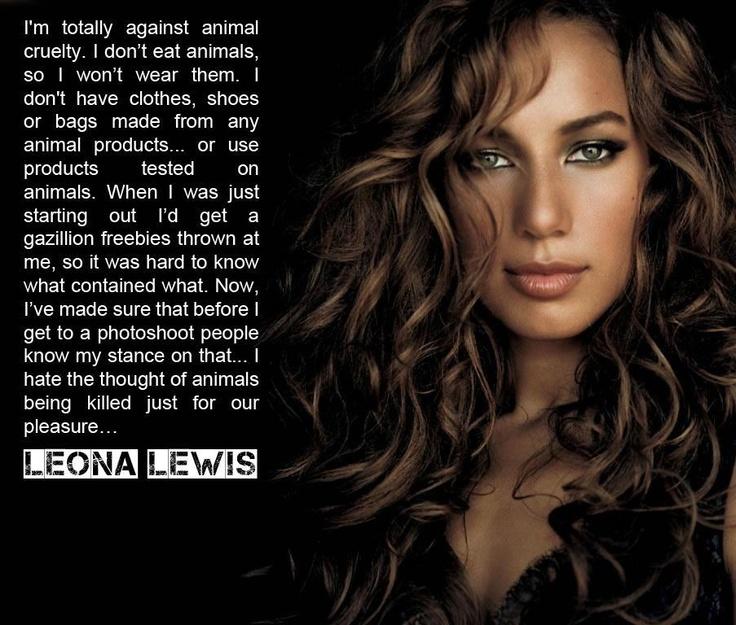 Leona Lewis - Vegan