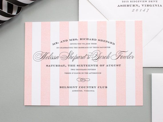 Striped Wedding Invitations: 25+ Best Ideas About Striped Wedding Dresses On Pinterest