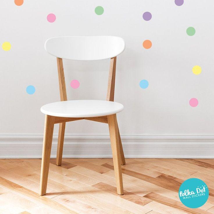 The Original Pastel Confetti Polka Dot Wall Decals
