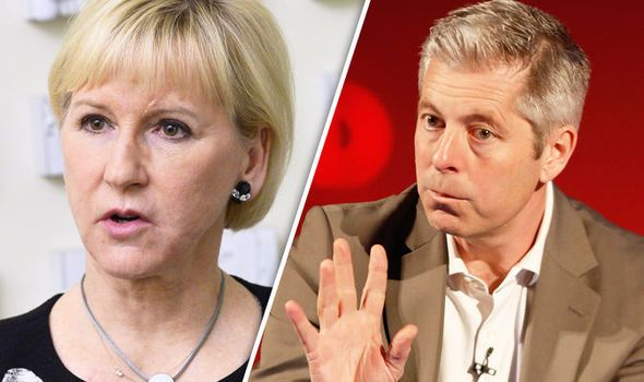 Swedens deputy PM warns UK of Brexit consequences  It is YOUR decision to leave