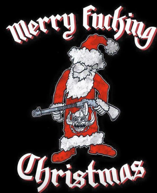 Merry Fucking Christmas! Lol