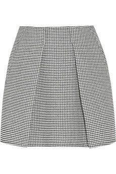 KENZO Mini-jupe en tweed plissée | NET-A-PORTER...thích quá đi thôi..