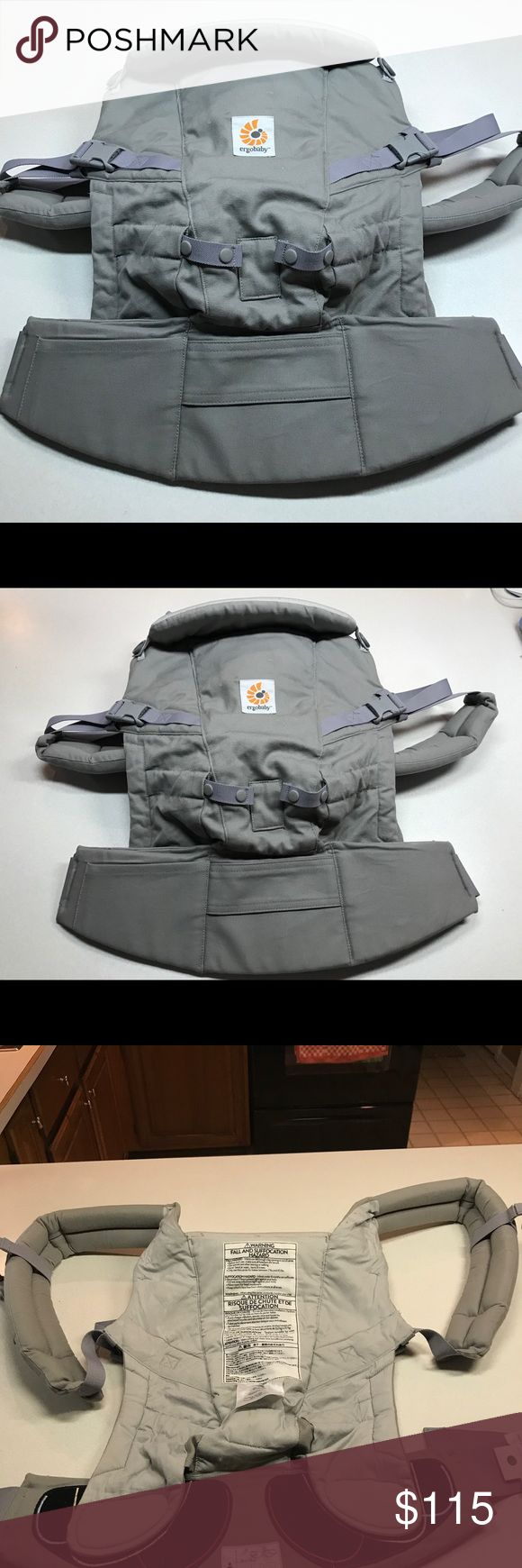 Ergobaby Adapt Ergonomic Baby Carrier Ergobaby Adapt Award Winning Ergonomic Multi-Position Baby Carrier, Newborn to Toddler in Pearl Grey in like-new condition, used only one time. It's a great product perfect for the fall to use with your new baby! Ergo Accessories