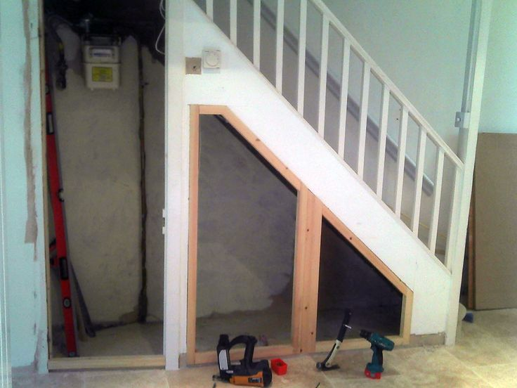 Brilliant Functionally Storage Under Staircase Ideas On Home Decorating  With Under Stair Storage Design Inspiration In Minimalist White Staircase