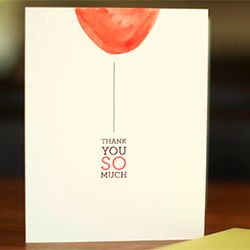 Make these simple watercolor thank you cards. Printable of the design included.