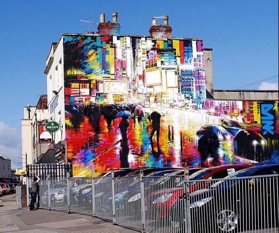 by DANK - Bedminster, Bristol, England - 2014 - Big Bozo photo (LP)