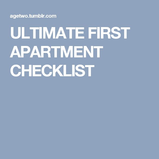 The 25+ best First apartment checklist ideas on Pinterest | First ...