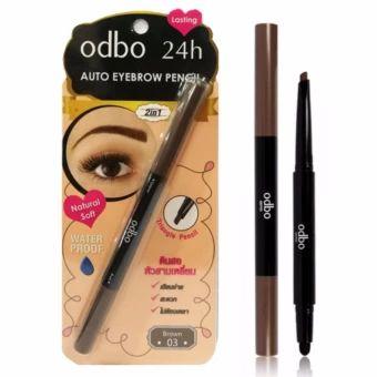 จัดเลย  Odbo 24h Auto Eyebrow Pencil โอดีบีโอดินสอเขียนคิ้วเนื้อครีมพร้อมหัวฟองน้ำ OD705 #03Brownสีน้ำตาล  ราคาเพียง  168 บาท  เท่านั้น คุณสมบัติ มีดังนี้ ดินสอเขียนคิ้วเนื้อเนียนนิ่ม เขียนง่าย พร้อมหัวฟองน้ำ สำหรับเกลี่ย สูตรกันน้ำ ไม่ต้องเหลา