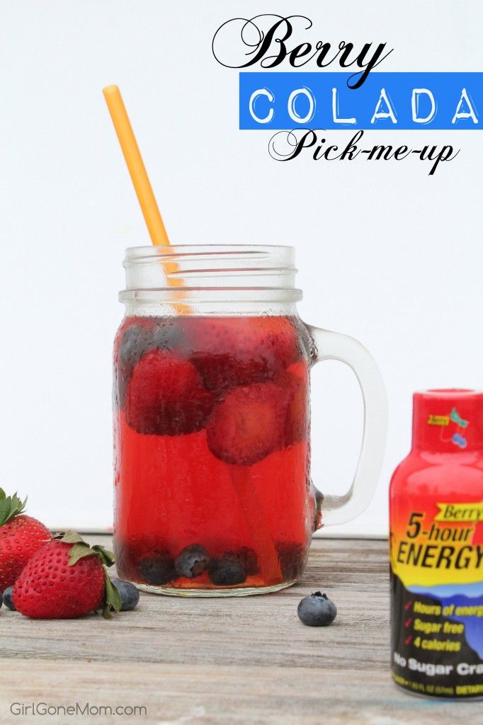 5-hour ENERGY® Berry Colada Pick-Me-Up #ThisIsMySecret #shop | Girl Gone Mom