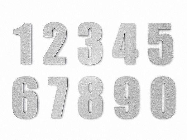 Superb Manufaktur f r individuelle Schilder und Hausnummern verschiedensten Materialien aus Edelstahl Schiefer Granit