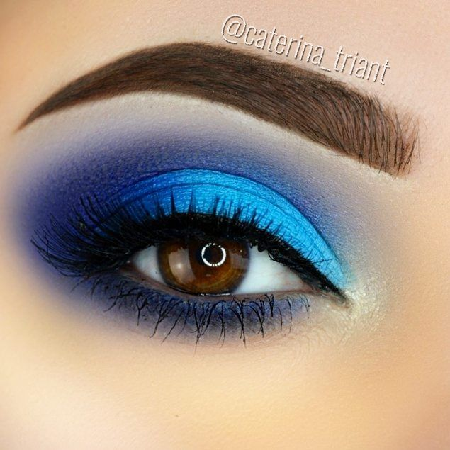 Reposting @caterina_triant: Shades of blue  Products used:  @anastasiabeverlyhills @norvina •dipbrow pomade in medium brown •clear brow gel •Sundipped glowkit @morphebrushes •35b palette @makeupgeekcosmetics •creme brulee, boo berry @tartecosmetics •shape tape concealer in light medium @houseoflashes •femme fatale lashes @catrice.cosmetics •glam & doll mascara @katvondbeauty •tattoo liner trooper  #anastasiabrows #anastasiabeverlyhills #norvina #abhbabespl #abhjunkiess #morphebrushes