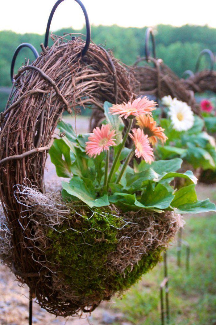 deko ideen selbermachen gartendeko kreativ pflanzen