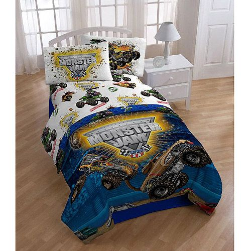 $20 twin Monster Jam Sheet Set