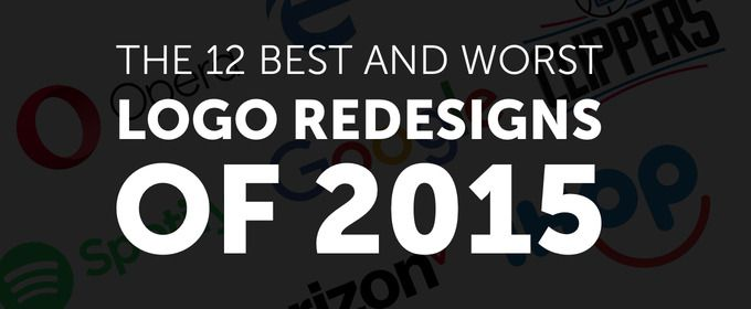 The 12 Best and Worst Logo Redesigns of 2015 - and Twitter has something snarky to say about each one.