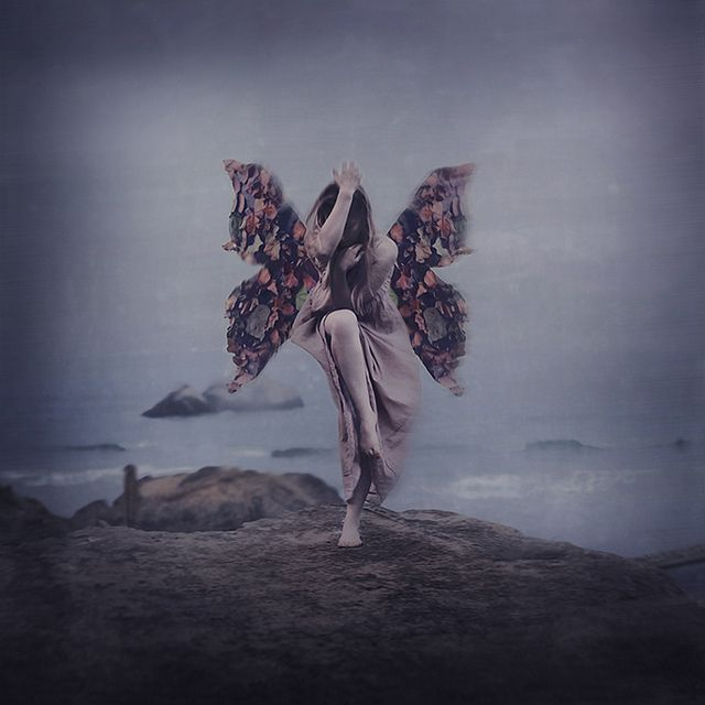 the fear of falling by brookeshaden, via Flickr