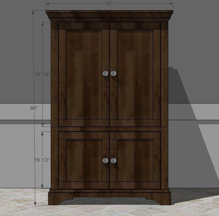diy pie safe plans woodworking projects plans. Black Bedroom Furniture Sets. Home Design Ideas