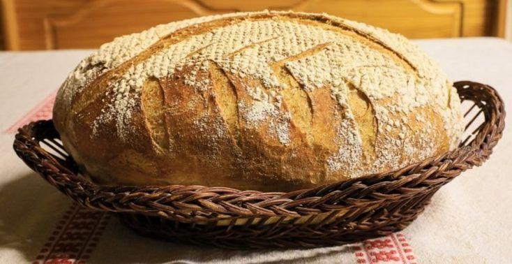 Domáci maďarský chlieb - Receptik.sk