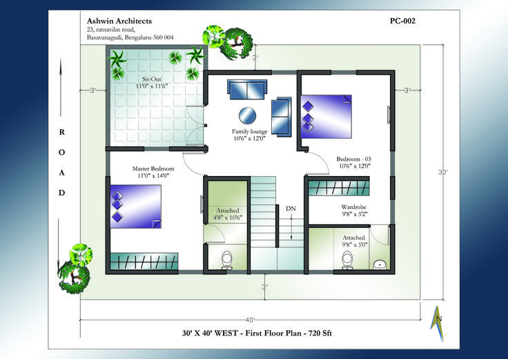 Looking for 30 X 40 House Plans? Superior 30 X 40 West ...