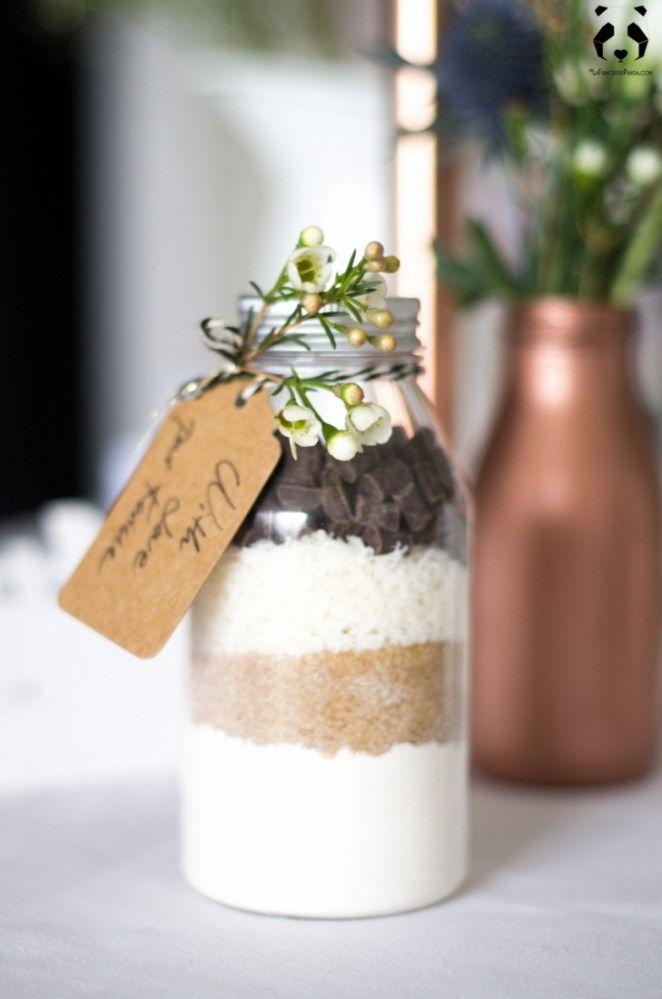 DIY: eine billige kupfer & weiße Hochzeitsdekoration   – Déco mariage
