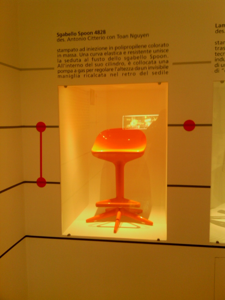 Met Antonio Citterio in Milan - brilliant designer