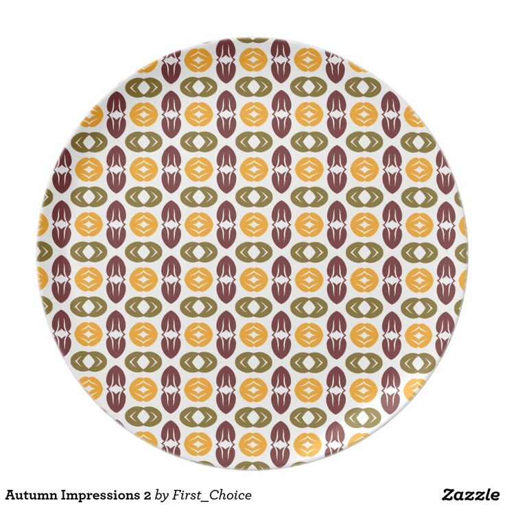 Autumn Impressions 2 Plates
